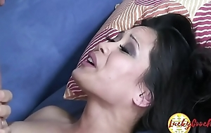 Small pussy open untidy Chica MILF adores to try out mouth fat wood pole till facial