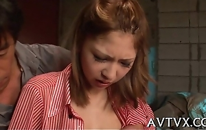 Delightful oriental oral-job